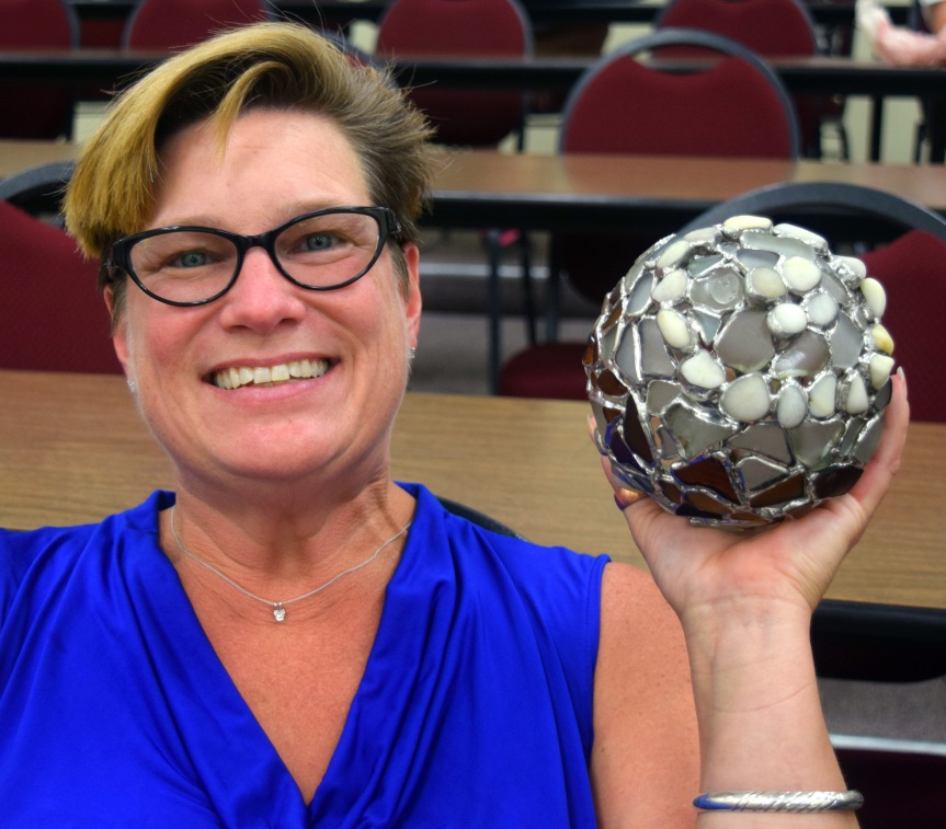 MEET OUR MAKERS: A profile of beach glass artist TracySmith-Dengler