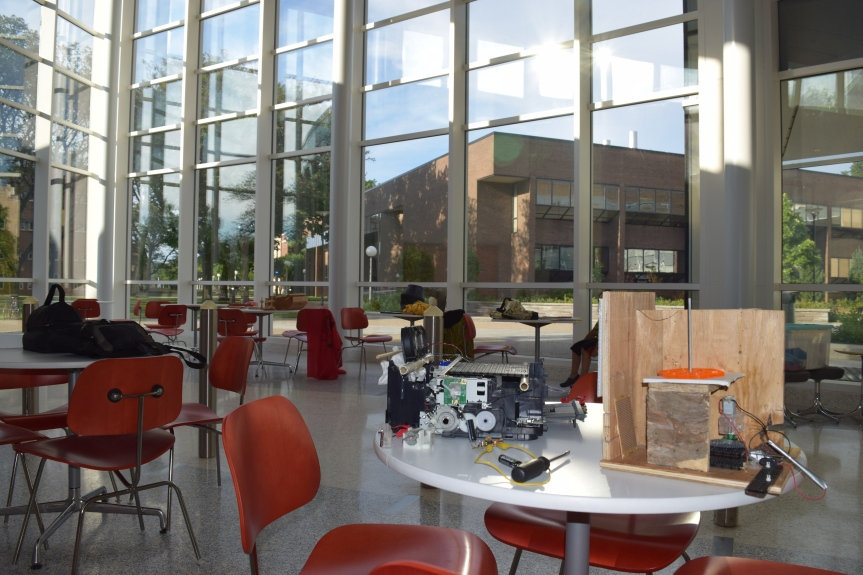 Get a glimpse of where our Mini Maker Faire is happening on Fredoniacampus